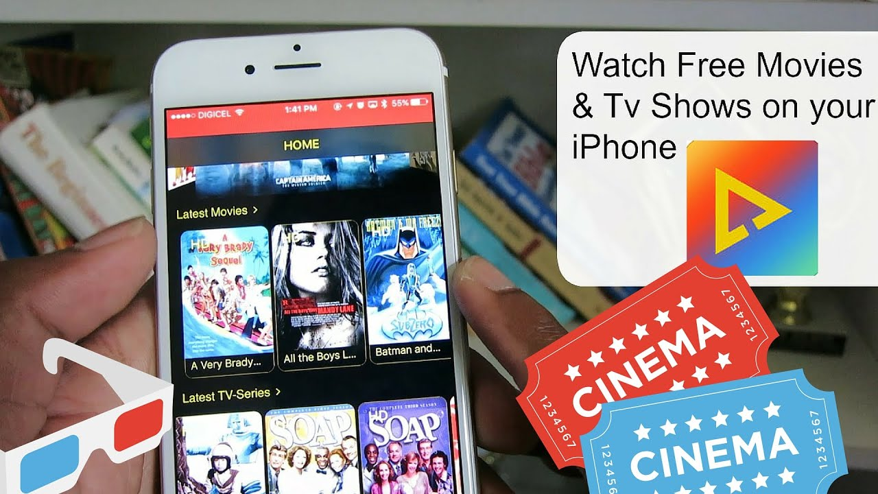 best app to watch movies & tv shows free ios 9 - 9.3.2 no jailbreak