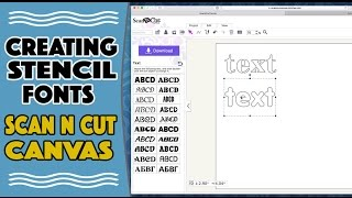 Video Brother Scan n Cut Tutorial: Creating Stencilled Letters download MP3, 3GP, MP4, WEBM, AVI, FLV Juli 2018