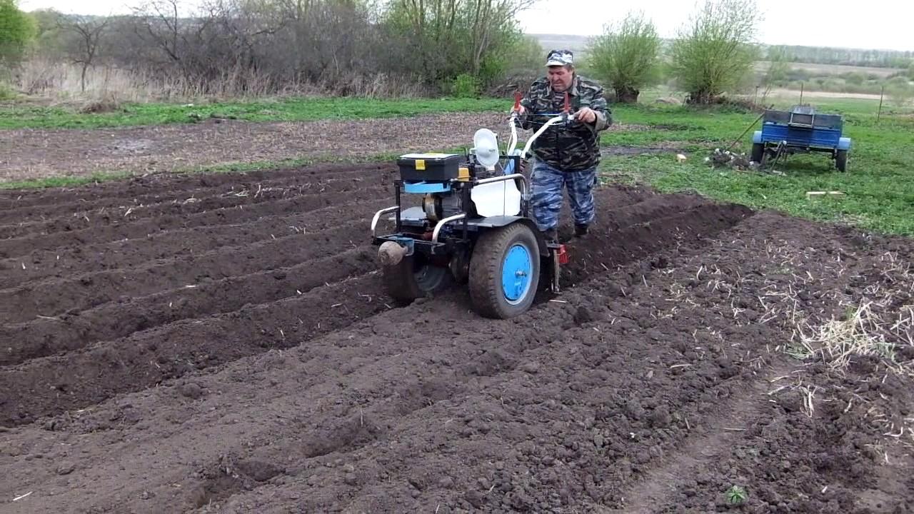 видеоролики культивация почвы под картофель