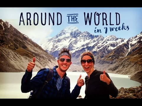 A Backpacking Travel Video Diary | 7 weeks Featuring Singapore Australia New Zealand Fiji LA