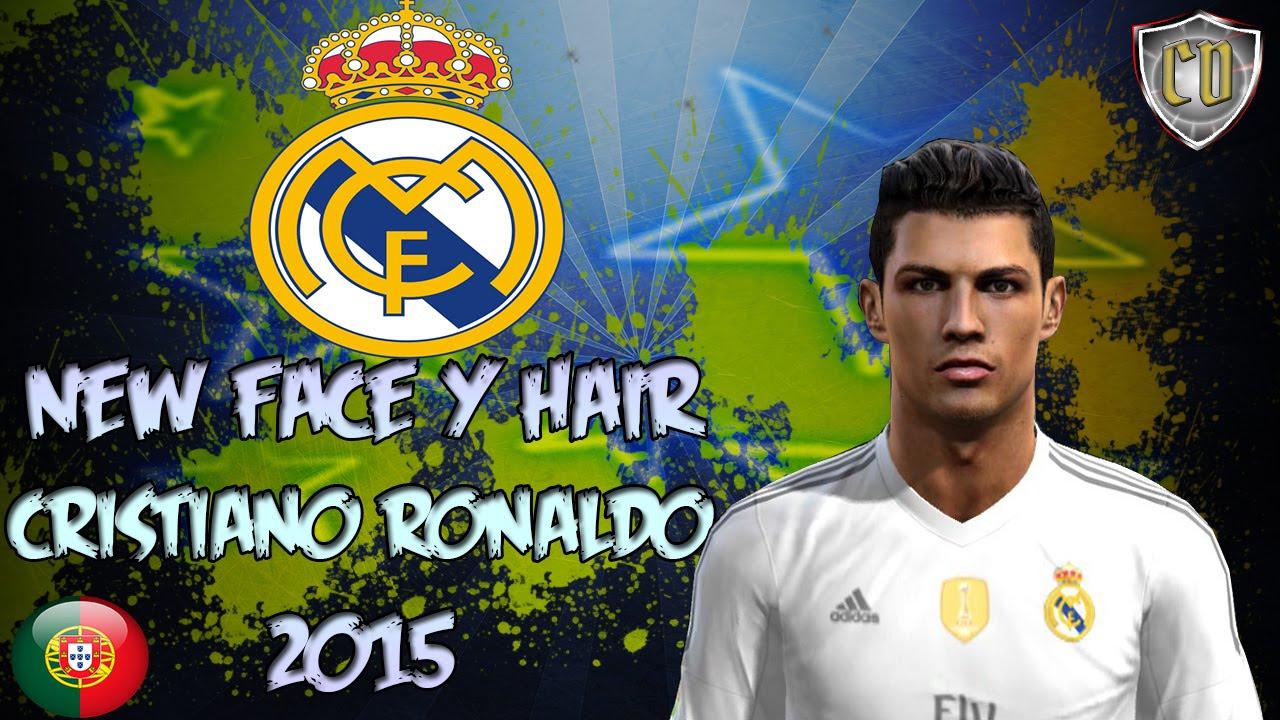 NEW FACE HAIR CRISTIANO RONALDO PES DOWNLOAD YouTube - Download hair cristiano ronaldo pes 2013