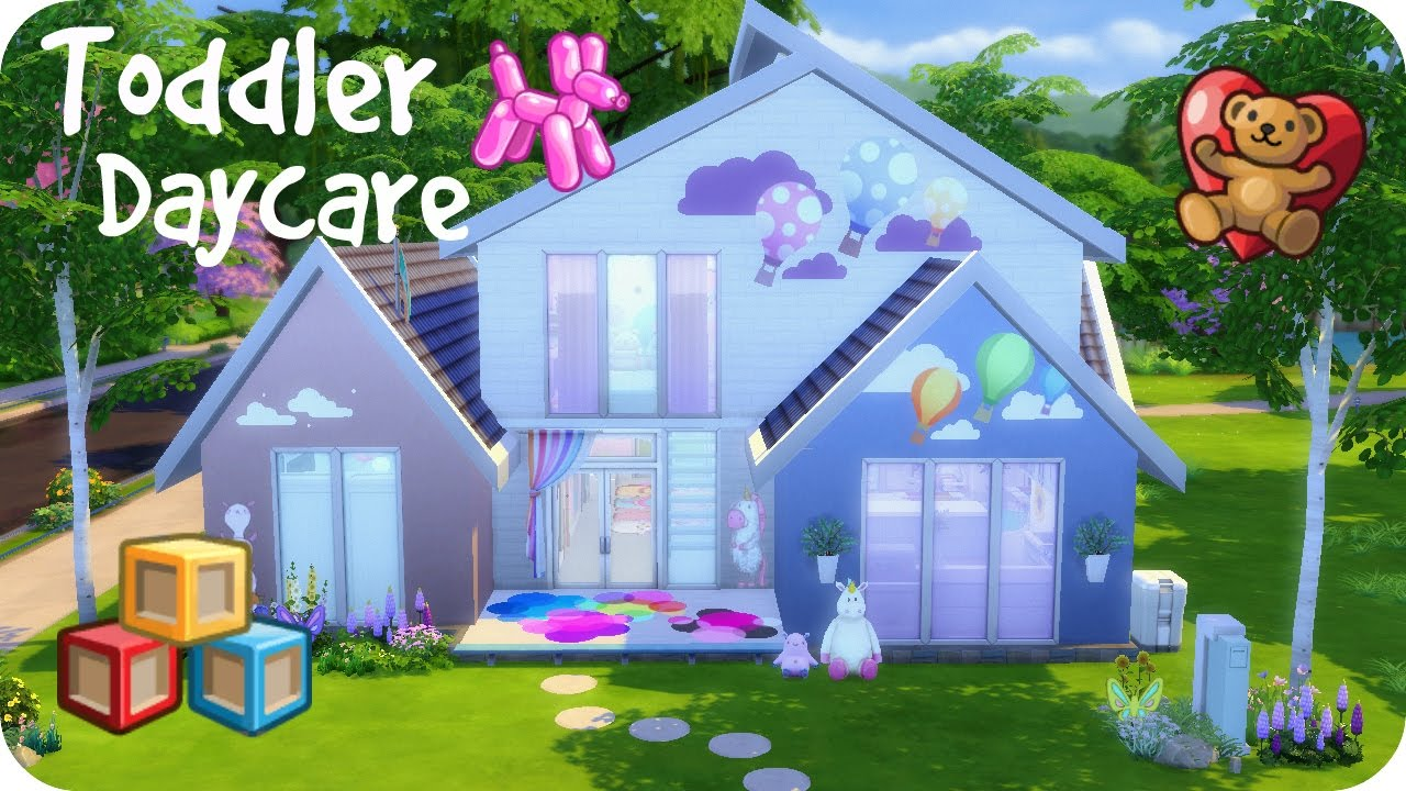 Sims  Daycare Build Download