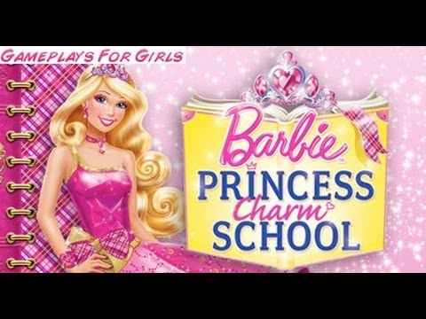 Barbie Princess Charm School * Gameplay For Girls * ♥