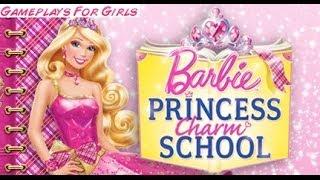 ♥  Barbie Princess Charm School  * Gameplay For Girls *  ♥