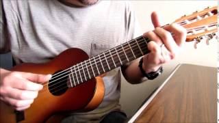 African fingerstyle guitar on Yamaha GL1 Guitalele