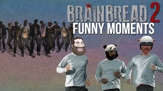 Beating My Friends With Bricks- BRAINBREAD 2 FUNNY MOMENTS