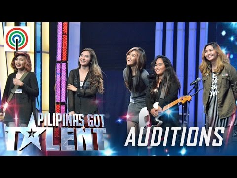 Pilipinas Got Talent Season 5 Auditions: Bad Hair Day – All-Female Band