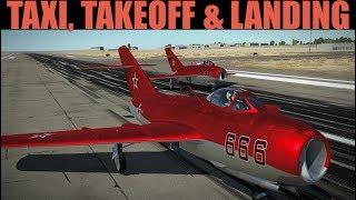 Mig-15bis: Taxi, Takeoff & Landing Tutorial | DCS WORLD