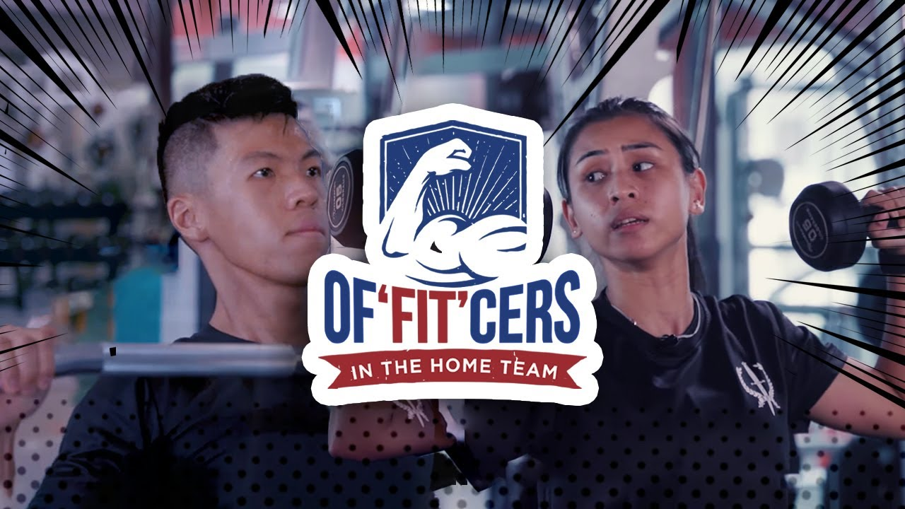 Of'FIT'cers in the Home Team Trailer