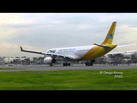 "Cebu Pacific Airbus A330-343X RP-C3341 ""Big Juan"" Takeoff in Manila (MNL/RPLL)"