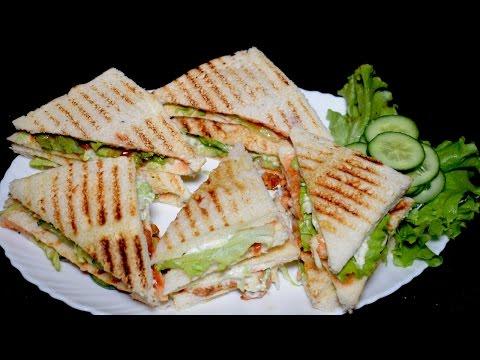 chicken-sandwich-recipe---bbq-chicken-club-sandwich---kids-lunch-box-idea---breakfast-recipe