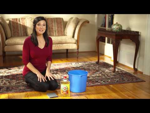 Murphy Oil Soap Shows How to Maintain Wood Flooring