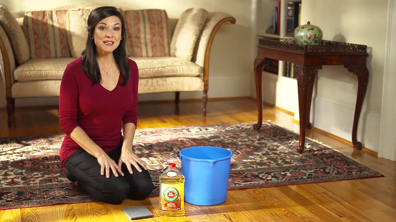 Murphy Oil Soap Shows How To Maintain Wood Flooring Youtube