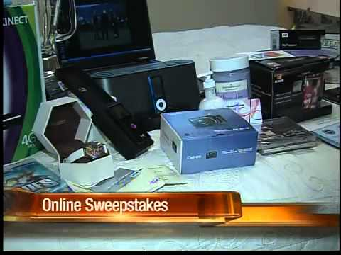 Women hits goldmine by entering sweepstakes