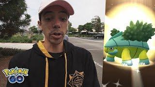 I FINALLY GOT A SHINY POKÉMON... (Turtwig Community Day in Pokémon GO)