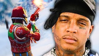 PLAYING FORTNITE WITH SKI MASK THE SLUMP GOD