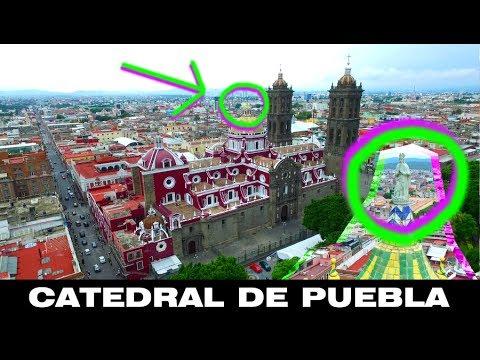 Sabes que hay en la cupula? Catedral de Puebla, Mexico