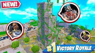 TILTED TOWERS 200 YEARS AFTER Fortnite Battle Royale!