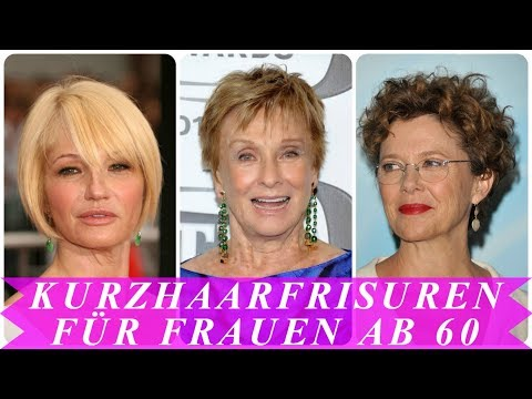 Aktuelle kurzhaarfrisuren 28 frauen ab 28 - YouTube