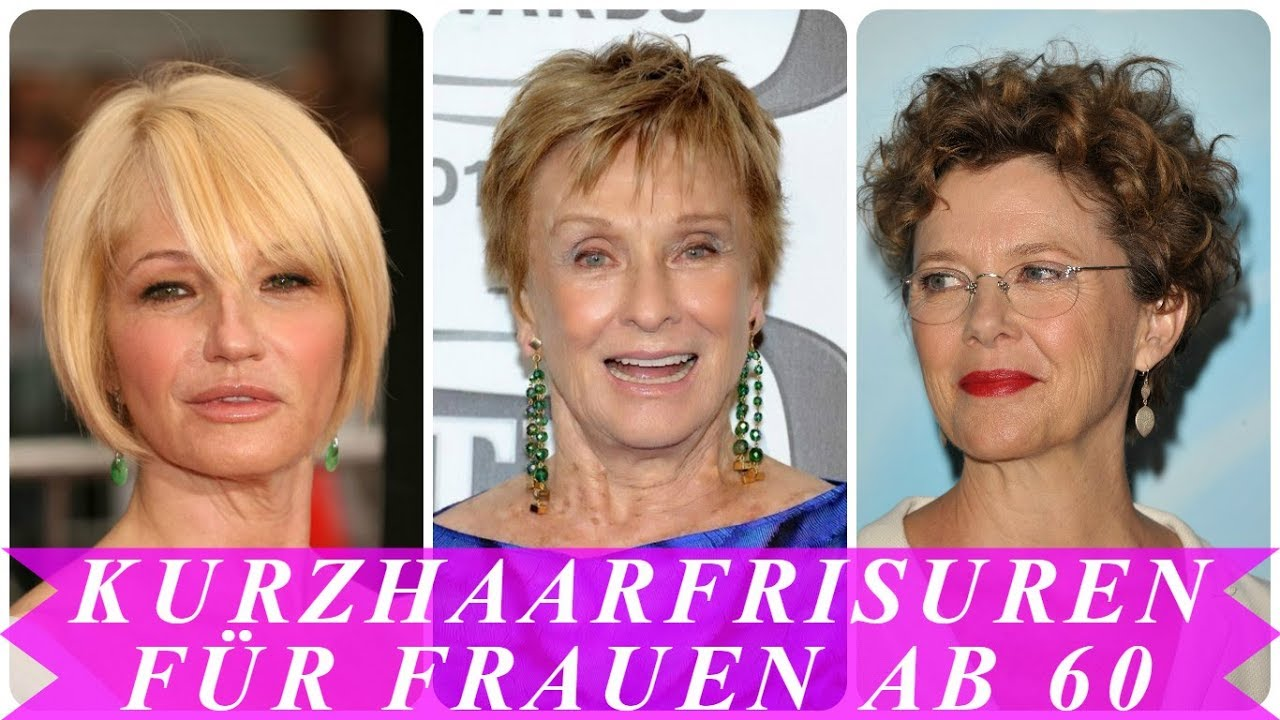 Aktuelle Kurzhaarfrisuren 2018 Frauen Ab 60 YouTube