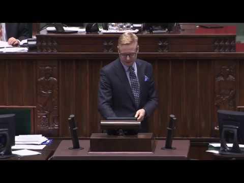 Michał Stasiński – wystąpienie z 10 stycznia 2018 r.
