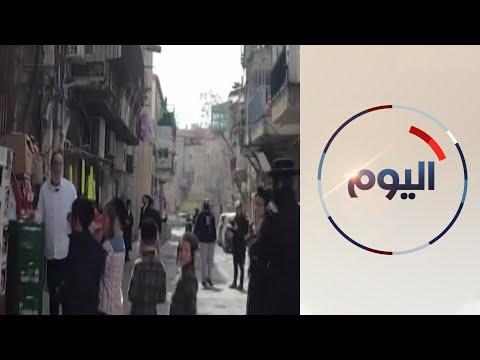 متدينون يهود في القدس لا يلتزمون بإجراءات منع انتشار الوباء