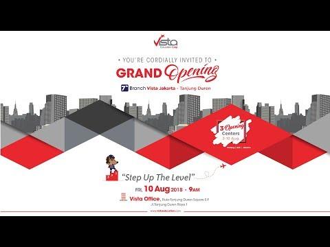 Grand Opening Vista Education Jakarta, Tanjung Duren