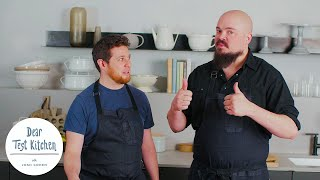 How To Cook Pork Chops with Isaac Toups | Dear Test Kitchen