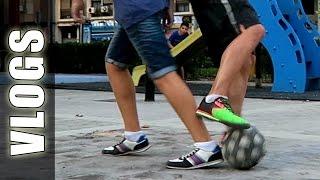 Caños de Fútbol Increíbles en Fútbol calle & Freestyle - GuidoFTO Vlogs Diarios