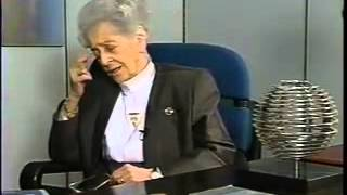 More: http://www.sfn.org/about/history-of-neurosciencesociety for neuroscience archival interview with italian neurologist rita levi-montalcini. she received...