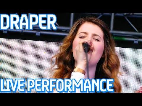Draper - All I See, LIVE On The Visa Music Stage At Formula E!