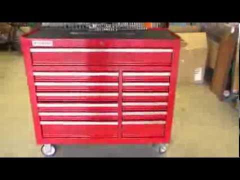 us general mechanic tool box youtube. Black Bedroom Furniture Sets. Home Design Ideas