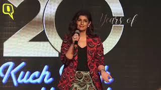 Shah Rukh Khan, Kajol, Karan Johar and Rani Mukerji Celebrate 20 Years of 'Kuch Kuch Hota Hai'