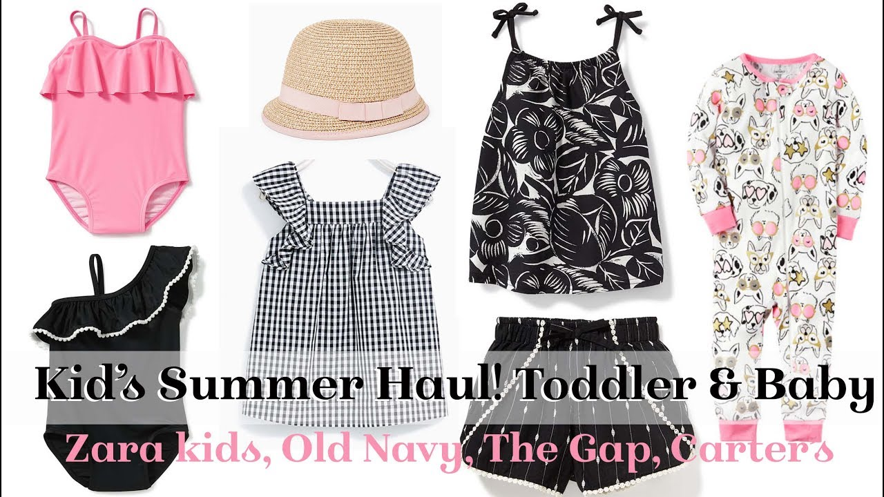 info för nya utgåvan eleganta skor Kid's Haul! Summer Clothing from ZARA kids, GapKids, Old Navy ...