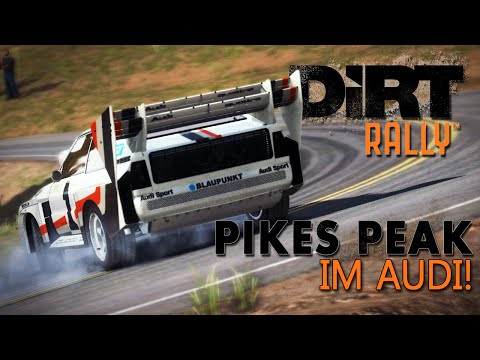 DiRT Rally -  Pikes Peak | Wheelcam [HD] [GER] Audi Sport Quattro S1 Pikes Peak