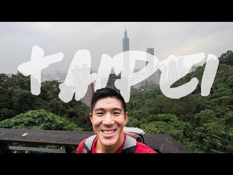 TAIPEI | Eating, Elephant Mountain, Leg Cramps, Sky Lanterns and More Food | 12 Days In Taiwan EP1