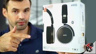 AKG N60NC Noise Cancelling Wireless Headphones - Unboxing and First Impressions