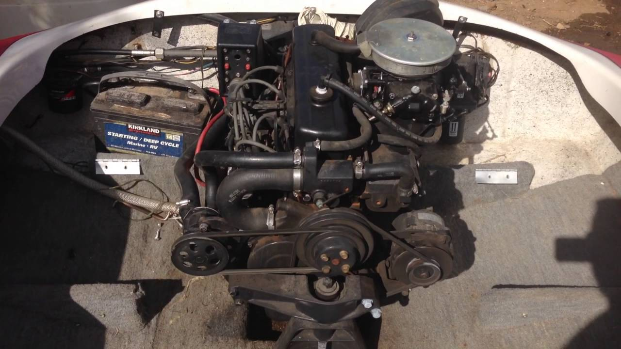 1998 Volvo Penta 3.0LGS 4-cylinder engine with SX cobra ...