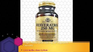 Solgar Resveratrol 500 Mg 30 Vegetable Capsules Price In Dubai