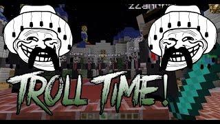 Troll time - S-AU PANICAT! | Minecraft