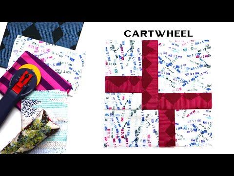 Sew Modern Quilts: Cartwheel For The Modern Quilt Block Series