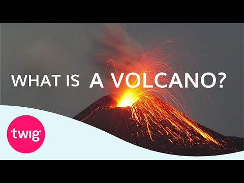 Geography Lesson What Is A Volcano Youtube