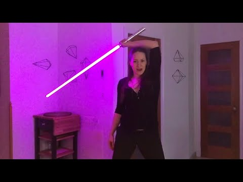 LIGHTSABER TUTORIAL -  High/Low Whip + Head Catch