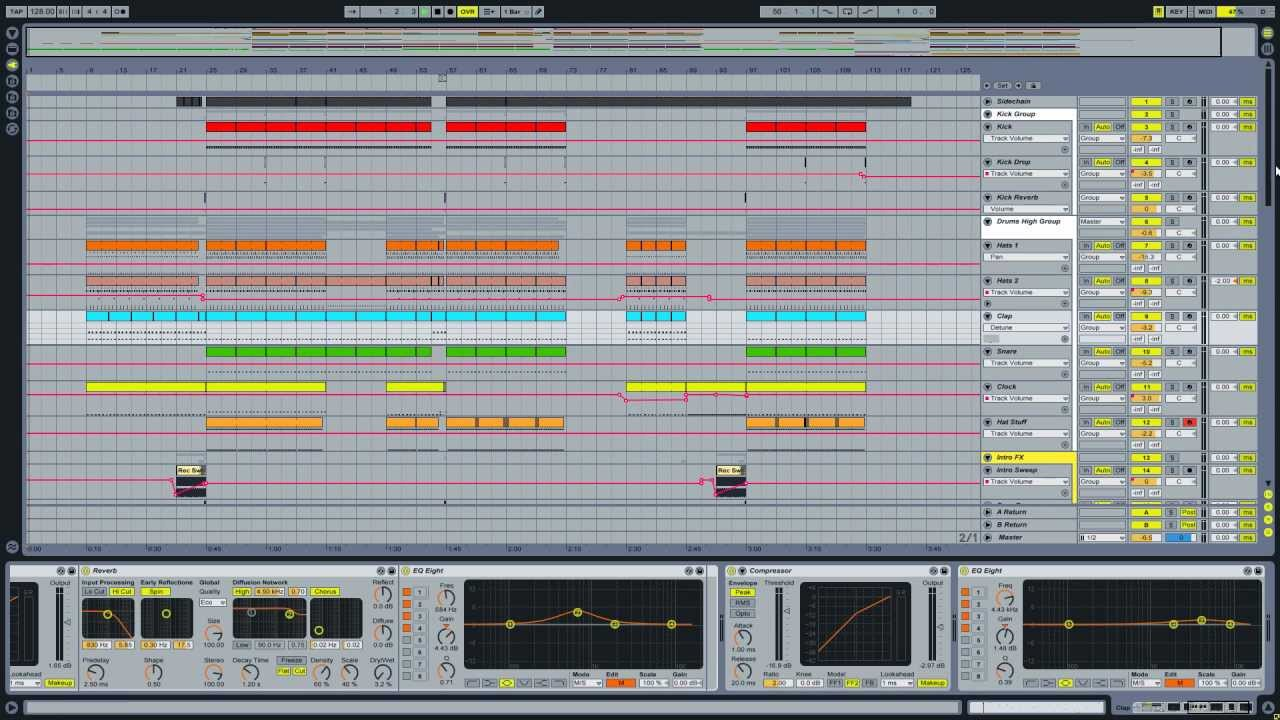 ableton live how to start