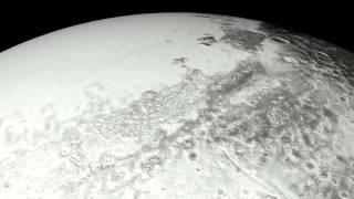 """فيديو جديد لـ""""ناسا"""" يأخذك فى جولة على كوكب بلوتو"""