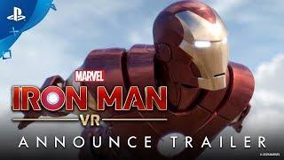 Marvel's Iron Man VR – Trailer de Anúncio em Português | PS4