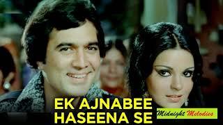 Ek Ajnabi Haseena Se | Ajnabee | Kishore kumar | Mp3 song