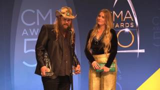 """Chris Stapleton Reveals the Inspiration Behind His """"Fire Away"""" Video"""