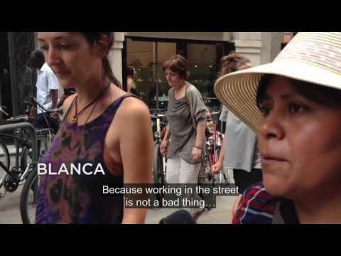 Street Vendors Protest In Barcelona 2016