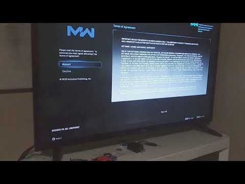 After Install COD Modern Warfare Disc And Require Download Update?
